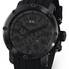 TW Steel Tech Collection Cool Black Watch $895