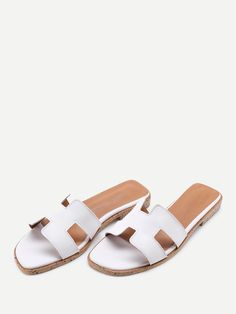 shoes170512808_2 PU Cutout Design Sliders