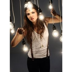 Nickelodeon actress and singer Victoria Justice Photoshoot Pics ❤ liked on…
