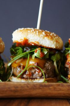 Oh man, do I have something fiery-good for you today. In anticipation of your Memorial Day barbeque plans, I've come up with one of my best burger recipes yet: a Korean inspired gochujang BBQ slider topped with cheddar cheese, kimchi and Korean salad. If you haven't been introduced to the wonderful world of gochujang then I suggest you […]