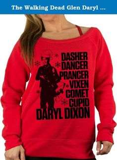 The Walking Dead Glen Daryl Dixon Season 7 Funny Ugly Christmas Sweater Gift Idea Red X-Large. Wicked Buff Sportswear on Amazon we have awesome women Christmas sweaters, ugly Christmas sweater or just plain old silly Christmas sweaters. We would like to wish everybody a Merry Christmas Ya Filthy Animal and hopefully you guys can steer clear of the nightmare before Christmas with our hoodies. Sorry we don't currently have any sexy Christmas lingerie or sexy Christmas costumes but pull up…