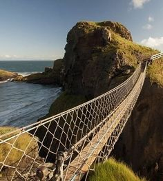 The Carrick-a-Rede Rope Bridge offers a truly breathtaking experience.