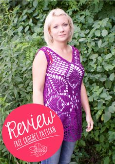Summer Tank – Free Crochet Pattern – Review