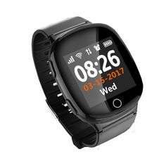 Hot D100 Smart Watch GPS+LBS+WIFI Positioning Anti-lost Heart Rate Sports Tracker Fall Alarm SOS Wristwatch for Old People Elder #Affiliate