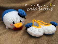 FireDragon Creations: Set TSUM TSUM Donald Duck y Baby Shoes