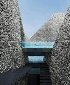"""Mi piace"": 10 mila, commenti: 37 -  Art & Architecture Magazine (@modern.architect) su Instagram: ""New Aquatics Centre,  Kengo Kuma Architects,  #Copenhagen #Denmark"""