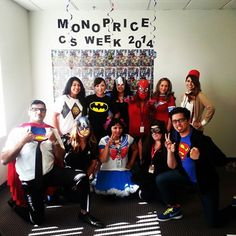 Customer Service Week 2014 - Here are our #SuperHeroes.