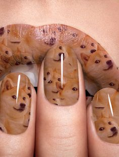 Doges doged. | The Year 2013 As Told By Nail Art love these Memes!!!