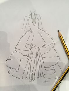 fashion design drawings Fashion sketches dresses drawings Source by anouschkakatharina dress drawing Dress Design Drawing, Dress Design Sketches, Fashion Design Drawings, Dress Drawing, Fashion Sketches, Dress Designs, Drawing Sketches, Croquis Fashion, Wedding Dress Sketches