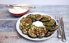 grillezett szömörcés padlizsán tahinis joghurttal – a közel-keleti konyha íze – Felhőlány