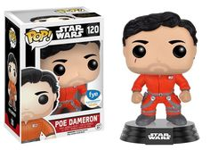 Star Wars The Force Awakens: Poe Dameron in Rebel Flight suit without helmet Pop figure by Funko, FYE exclusive