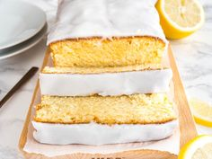 This moist Lemon Cake Recipe is fluffy, tangy and so easy to make from scratch! Every bite of this supremely moist pound cake is bursting with lemon flavor. If you like the Starbucks Lemon Loaf then you'll love this homemade lemon pound cake! Lemon Dessert Recipes, Homemade Cake Recipes, Pound Cake Recipes, Lemon Recipes, Baking Recipes, Delicious Desserts, Copycat Recipes, Starbucks Lemon Loaf, Lemon Loaf Cake