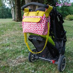 The Melanie Diaper Bag Pattern PDF Stroller Friendly Diaper Bag Patterns, Bag Patterns To Sew, Sewing Patterns, Sewing Tutorials, Sewing Projects, Large Diaper Bags, Baby Crafts, Cool Baby Stuff, Baby Items