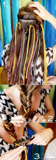 hippie hairstyle