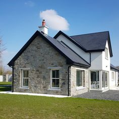 Munster Joinery, Stone Cladding, Sash Windows, New Builds, Sliding Doors, Farmhouse, Cabin, House Styles, Instagram