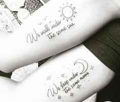 29 tatuajes que podrás hacerte con tu mejor amiga (porque la auténtica amistad como los tatuajes es para siempre)