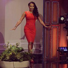 It's Mel B from @America's Got Talent NBC! Tonight Show, America's Got Talent, High Neck Dress, Dresses, Fashion, Mel B, Turtleneck Dress, Vestidos, Moda