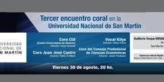 Tercer Encuentro Coral en la Universidad de San Martín (Argentina)