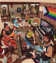 Character Art, Character Design, Arte Cyberpunk, Anime Furry, Black Artists, Environmental Art, Anime Demon, Design Reference, Game Art