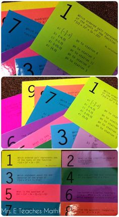 Reviewing with Stations Maze Activities (polynomials stations maze download)   mrseteachesmath.blogspot.com