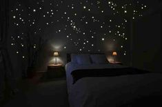 DIY Star Scape For The Kids' Room