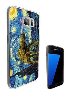 be3ede2d3 902 - Vincent Van Gogh Starry Night Star Wars robot Design Samsung Galaxy  S7 Edge G935