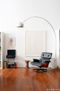 Interior with Eames Lounge Chair