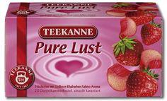 -in USA- Teekanne Pure Lust strawberry rhubarb with cream - 20 tea bags