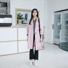 #envylook Single-Breasted Long Cotton Coat #koreanfashion #koreanstyle #kfashion #kstyle #stylish #fashionista #fashioninspo #fashioninspiration #inspirations #ootd #streetfashion #streetstyle #fashion #trend #style
