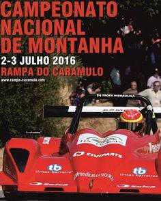 CNM 2016: Rampa do Caramulo recebe quinta prova de velocidade de montanha