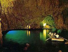 Swim through the emerald grotto off the Amalfi Coast