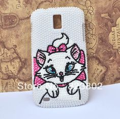 Aliexpress.com : Buy Marie Cat Hard Pearl Case Cover with For Samsung GALAXY S II or 2 T Mobile T989 Sprint D710 Epic 4G Touch from Reliable case for GALAXY S2 D710 suppliers on Cell Phone Case Rhinestone Button Bead Resin Craft Alloy Jewelry $17.90