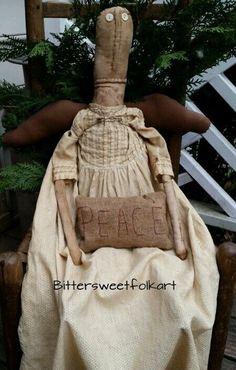 Primitive Folk AngeL doll