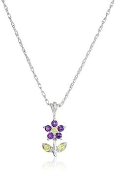 Sterling Silver Peridot and Amethyst Flower Pendant Necklace Amazon Collection http://www.amazon.com/dp/B0014X5MXW/ref=cm_sw_r_pi_dp_I-nfvb1EH3X0N