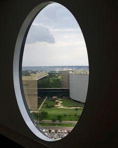 Brasília vista da janela