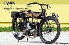 James Pineapple V-Twin 500sv  1922