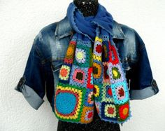 Crochet Accessories, Handmade Accessories, Afghans, Cowl, Happy, Pattern, How To Make, Fashion, Tela