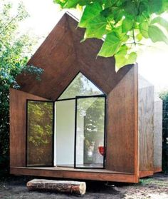 Teeny Tiny Teahouses The Cloud Collective 'Hermits House' is a Compact Abode