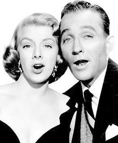 Rosemary Clooney and Bing Crosby.
