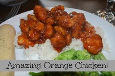 It's a Sister Thing: Orange Chicken