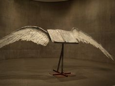 Book with Wings by Anselm Kiefer, Museum of Modern Art Fort Worth