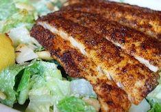 Sandra's Alaska Recipes: SANDRA'S OUTDOOR BLACKENED HALIBUT