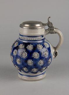 Mug Period: Edo period Date: century Culture: Germany Medium: Stoneware Japanese Beer, Japanese Art, Kirin Beer, Beer Store, Beer Pictures, Edo Period, Japanese Porcelain, How To Make Beer, Personalized Mugs