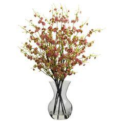 Found it at Wayfair - Cherry Blossoms with Vase Arrangement