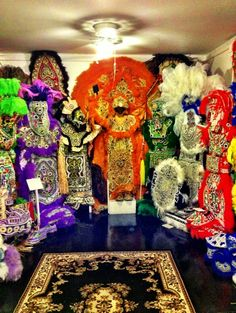 Backstreet Cultural Museum - The Backstreet Cultural Museum- RIGHT by our hotel room in Treme! Visitors find an amazing assortment of memorabilia indigenous to Mardi Gras, jazz funerals and other traditions found only in New Orleans.