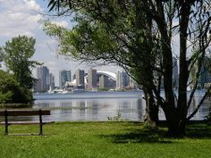 View of Toronto from Ward's Island