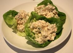 Turkey Salad    1/2 C chopped turkey  1/2 stick celery  1 egg, boiled and chopped  2-3T mayo (or to taste)  sprinkle celery salt    Mix everything together well and serve on a bed of lettuce. Sprinkle with parmesan cheese and eat!