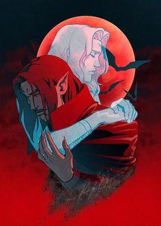 Castlevania Dracula, Alucard Castlevania, Castlevania Netflix, Belmont Castlevania, Carmilla, Castlevania Wallpaper, Manga Anime, Anime Art, Vampire Hunter D
