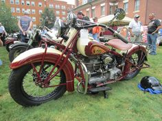 1938 Indian Four – Indian Motocycle Indian                     Day: July 21, 2013
