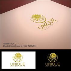 create an attractive brand and design a powerful and premium logo related to unique hospitality we manufacture and provide the hotel supplies / amenities such as soap, shampoo, bath gel, conditioner, body lotion, ...